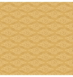 Chinese clouds pattern vector image