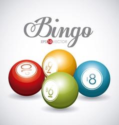 Bingo design vector