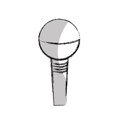 Microphone sound device icon vector