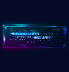 backgroud security vector image