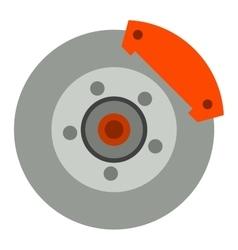 Car brake discs system vector