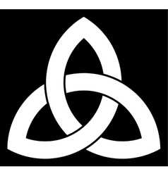 Celtic triquetra knot vector
