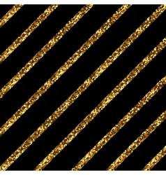 Golden diagonal lines vector image vector image