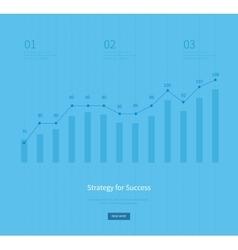 Infographic business arrow shape template design vector