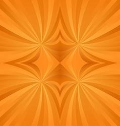 Orange spiral meditation background vector