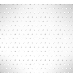 Pimpled seamless pattern Grey circles background vector image