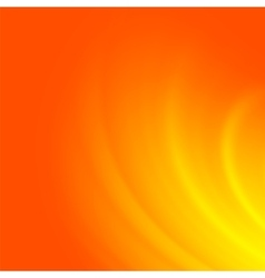 Fire orange wave background vector