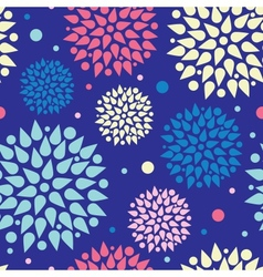Colorful bursts seamless pattern background vector image vector image