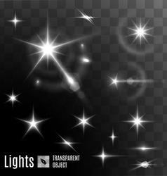 Star bokeh bright vector