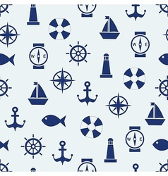 Maritime mood background vector