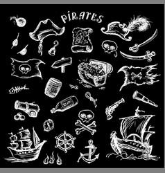 Pirates set vector