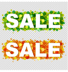 sale design text vector image