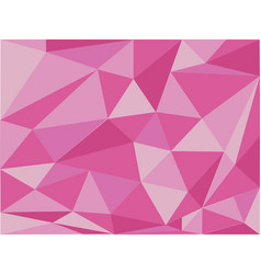 Background design with pink triangles vector