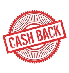 Cash back stamp vector
