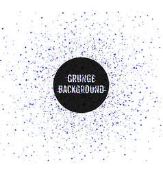 glitch splash grunge abstract background vector image