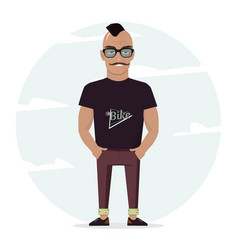 man character for your scenes for design work and vector image vector image