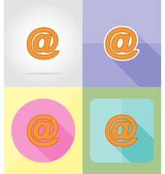 Service flat icons 23 vector