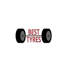 Tyre logo vector image