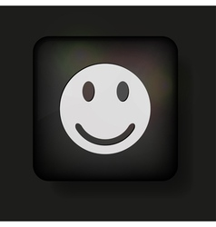 Happy smilie vector
