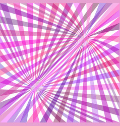 Curved ray background - graphic from striped rays vector