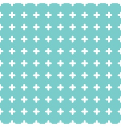 Cute colorful cross seamless pattern background vector