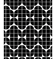 Seamless geometric tiles pattern in vintage style vector image vector image
