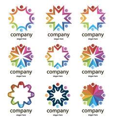 logos commonwealths vector image