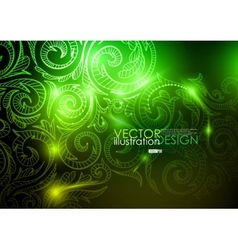 Neon pattern background vector
