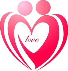 Love forever symbol or icon vector image