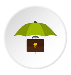 Money box icon circle vector