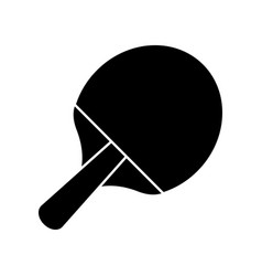 racket ping pong sport image pictogram vector image vector image