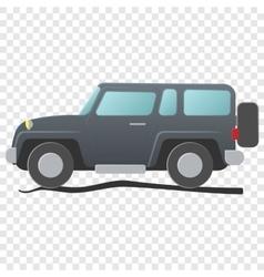 Sport utility vehicle cartoon vector