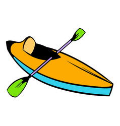 Kayak icon icon cartoon vector