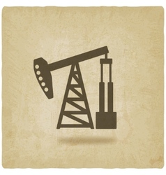 Oil pump symbol vector