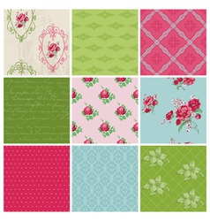 Seamless background Collection vector image