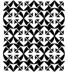 Futuristic black and white extraordinary geometric vector