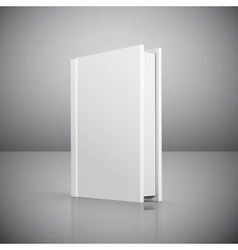 Blank book cover vector image vector image