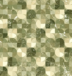 Seamless aged mosaic background vintage seamless vector