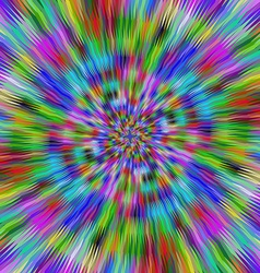Hypnotic vibrant colors vector