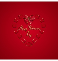 Elegant template for luxury invitation gift vector