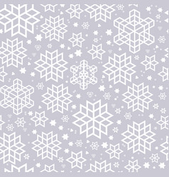 seamless pattern silhouette vector image vector image