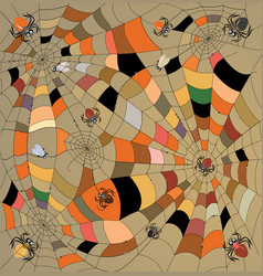 Web background for halloween vector