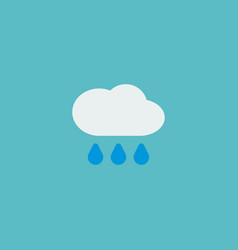 rain icon flat element of vector image vector image