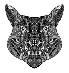 Tiger head image vector