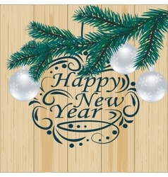 Christmas new year festive labels for postcards vector