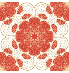 Bright lace seamless pattern vector image