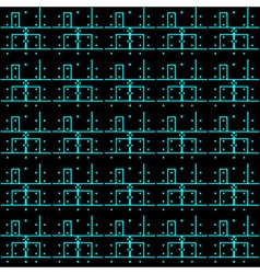 Printed circuit board pattern eps10 vector