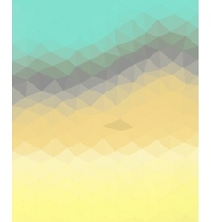 Abstract low poly geometric texture background vector image vector image