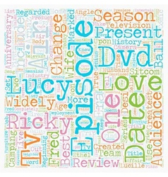 I love lucy season dvd review text background vector