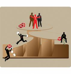 instability business vector image vector image